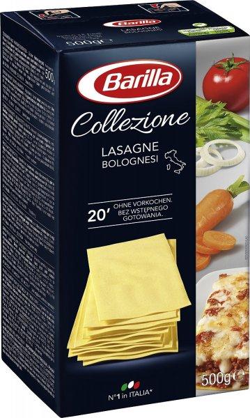 Amazon Prime : Barilla La Collezione Lasagne, 5er Pack (5 x 500 g) - Nur 4,50 €