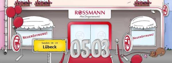 [Lübeck] Rossmann Sandstraße Neueröffnung 10% Rabatt bis 12.03.
