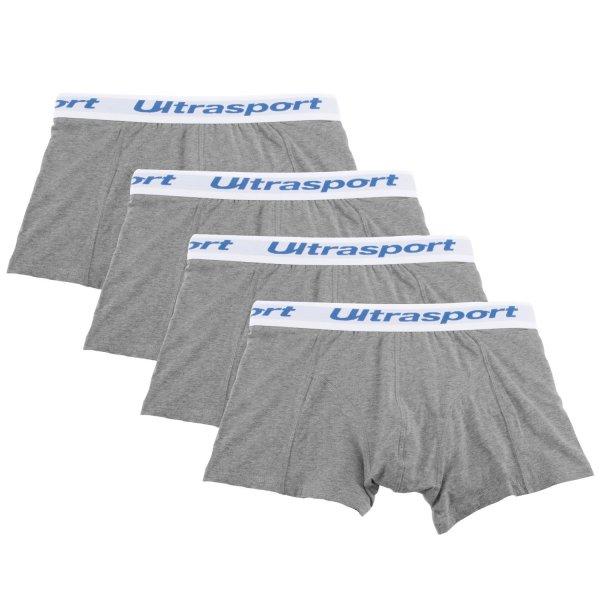 [Amazon.de] Ultrasport Herren Boxershorts, 4er Set, Hellgrau Größe L