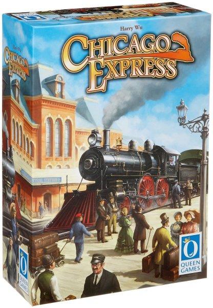 """[Amazon Prime] Brettspiel """"Chicago Express"""" von Queen Games zum Bestpreis (?!) für 12,44 €"""