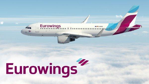 [Eurowings] NUR NOCH BIS 12 UHR - Mit Eurowings ab 35€ verreisen (Reminder)