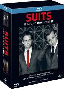 [Amazon.co.uk] Suits Staffel 1-3 (Bluray) für 21,11€ [dt. Tonspur]