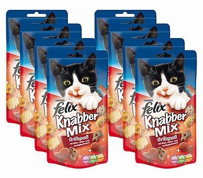 Futterplatz: Felix Snack Bundle 12+6 gratis nur 5,99€ anstelle von 28,62€