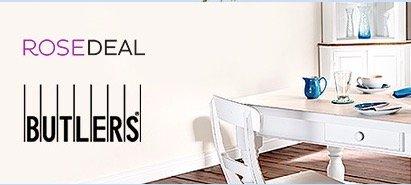 Butlers Gutschein bei vente-privee.com (RoseDeal)  80 € für 40€ oder 400/200