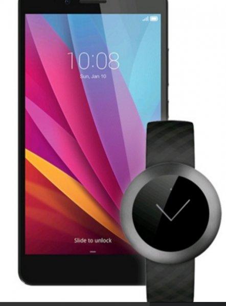 [Vmall am 10.03.] Flash-Sale:  Honor 7 LTE + Dual-SIM (5,2'' FHD IPS, HiSilicon Kirin 935 Octacore, 3GB RAM, 16GB intern, 20MP + 8MP Kamera, Vollmetallgehäuse, 3100 mAh, Android 5.0 -> Android 6) + Honor Z1-Band für 273,05€ *** ohne Z1-Band für ~254€