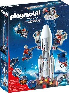 PLAYMOBIL 6195 - Weltraumrakete mit Basisstation @ Amazon