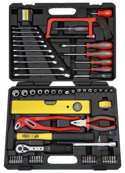 Famex 145-FX-55 für 52,98€ @notebooksbilliger - 67-teiliger Werkzeugkoffer