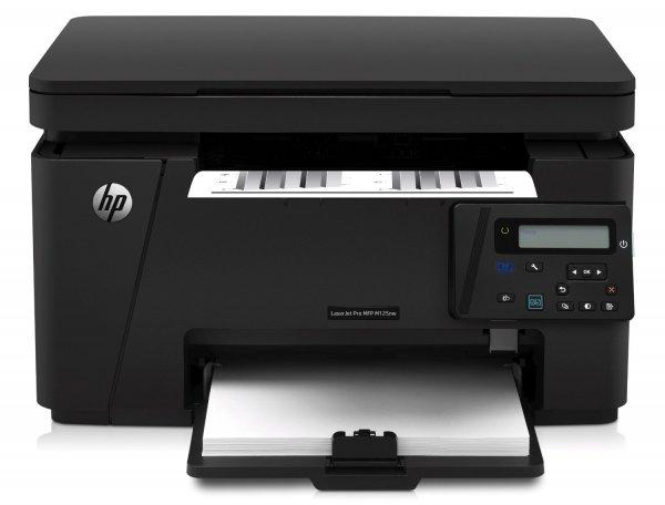 [amazon.it] HP LaserJet Pro M125nw Mono MFP Laserdrucker (Scanner, Drucker, Kopierer, WLAN, Ethernet, USB 2.0) schwarz