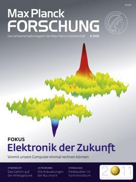 Kostenloses Abo: Forschungsmagazin der Max-Planck-Gesellschaft
