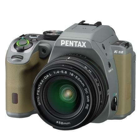 [Redcoon] Pentax K-S2 +DAL 18-50mmWR waldgrün (Spiegelreflexkamera, 20,1 MP)
