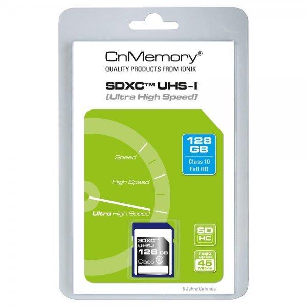 CnMemory 128GB Speicherkarte SDXC Class 10 für 29,99€ @Ebay WOW