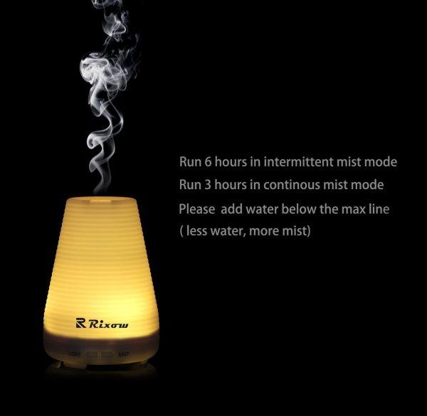 Ultraschall Luftbefeuchter mit LED-Farbwechsel
