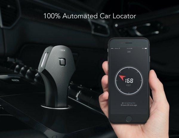 KfZ Ladegerät mit smart Car Locator (Amazon.de)