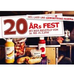 [IKEA Bielefeld] 32 Stück Hotdog - Party - Paket für 14,95€ (statt 19,99€)