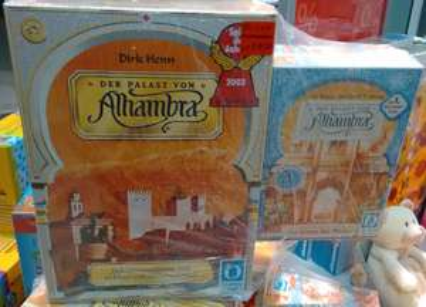 [ThaliaOutlet Paderborn lokal] Alhambra Gold + 1. Erw. (Brettspiel)