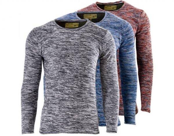 Indicode Bud Sweatshirt  Pullover Strick Strickpullover