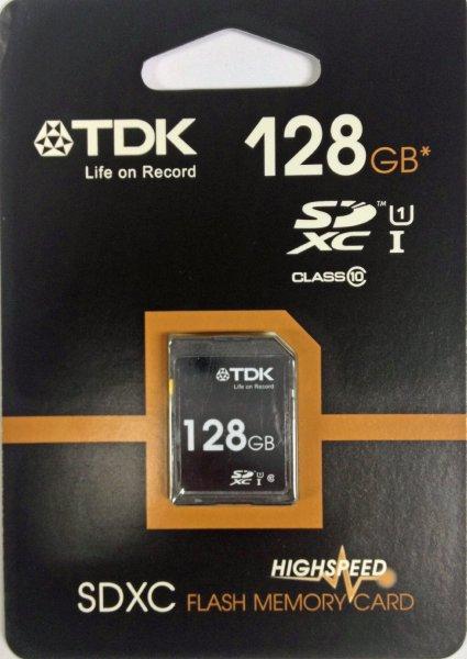 [Amazon.de] TDK 128GB SDXC Class 10 SD Card für 19,90€