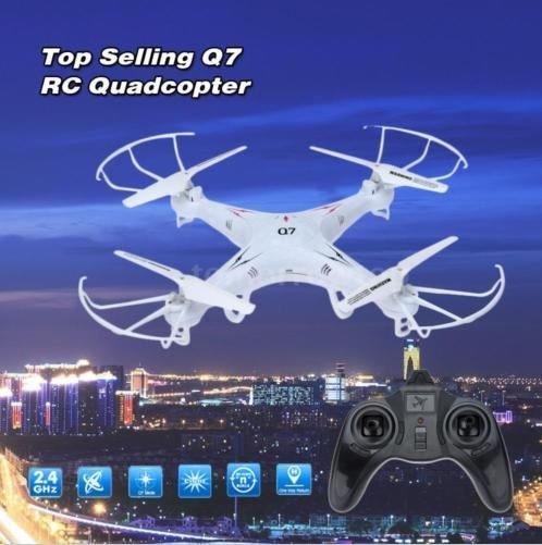 QuadCopter FY326 Q7 2.4G 6-Achs Gyro 4-CH RC +Bunten LED-Leuchten für 28.99@ Ebay.de