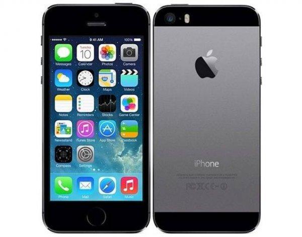 "[CarbonPhone Shop] Apple iPhone 5s, Smartphone, 4G LTE, 16 GB, 4"" (10,2 cm) 1136 x 640 Pixel Retina, 8 MPix, iOS, alle Farben, Demoware (neuwertig)"