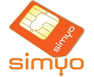Simyo All-On L (Handy-Tarif, 1 GByte & 200 Inklusiv-Einheiten) - 5,25€ mtl.