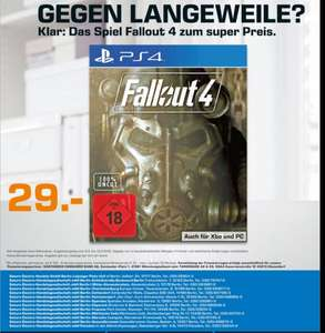 Fallout 4 29€ in Berlin /Potsdam(Saturn Lokal|PS4,PC,ONE)