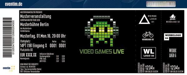 """[München] """"Video Games Live. Bonus Round"""" Konzertkarten für 49€ / 57,50€ @Groupon"""