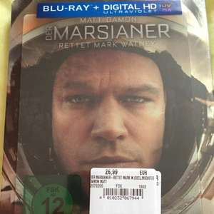 Der Marsianer - Rettet Mark Watney limited Edition Steelbook Lenticular 2D+3D Blu-ray für 26,99€ (PVG 36,99€) [Saturn Wuppertal]