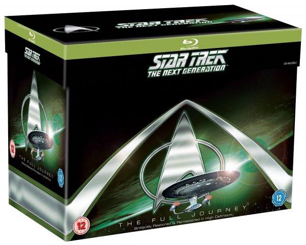 Star Trek: The Next Generation [Blu-ray] - Komplette Serie (41 Discs) Staffeln 1-7 für ca. 96,58 € > [amazon.co.uk]