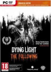 [Steam] Dying Light The Following Enhanced (Spiel + Season Pass + The Following) 25,75 Euro