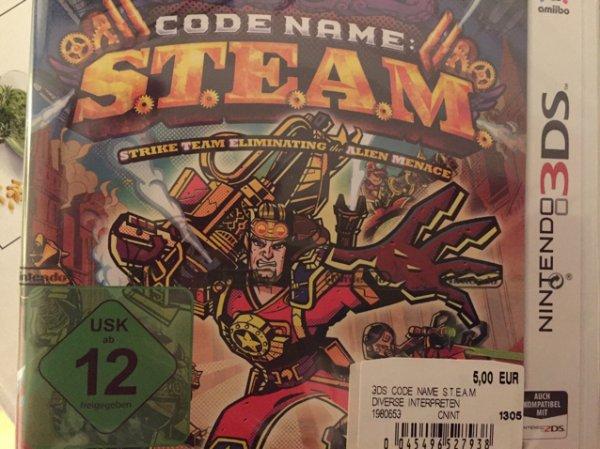 Codename S.T.E.A.M. u.a. für Nintendo 3ds bei Saturn Weiterstadt