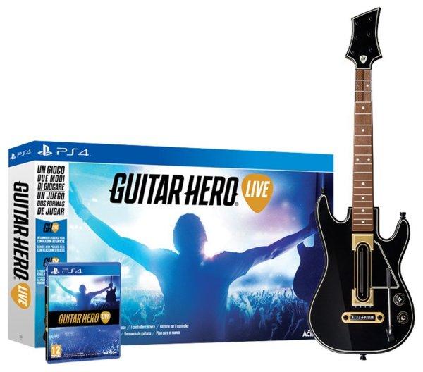[Amazon.es] Guitar Hero - Live (inkl. Gitarre) (alle Plattformen) für 44,06€