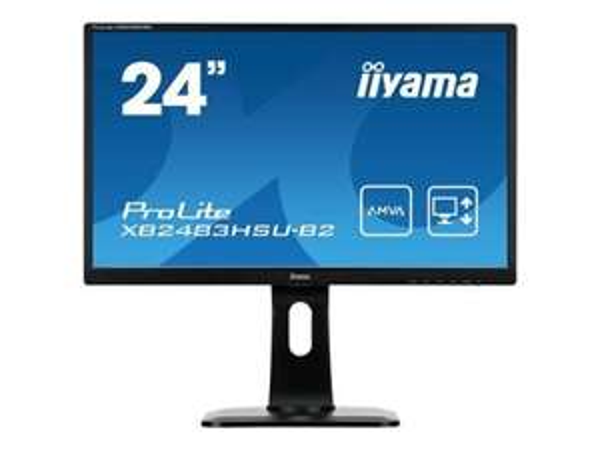 Iiyama ProLite XB2483HSU-B2 - 23,8'' LED-Monitor PIVOT [shoppingfever.de]