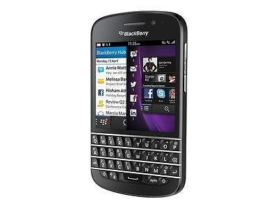 ebay WOW BlackBerry Q10 schwarz QWERTZ Ohne Simlock - WIE NEU