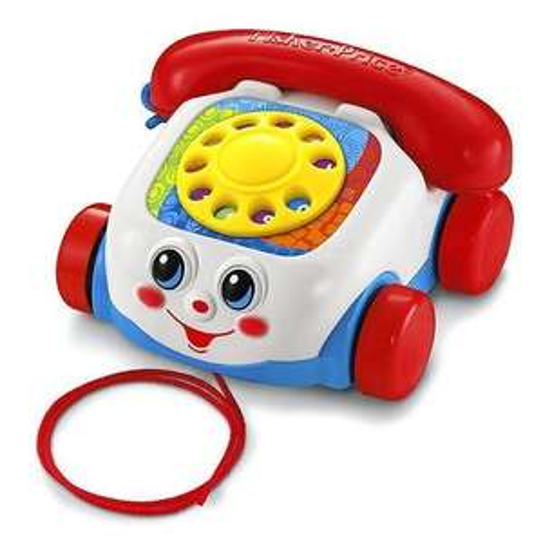 Mattel Fisher-Price Plappertelefon für 5,77€ bei Amazon (Plus Produkt)