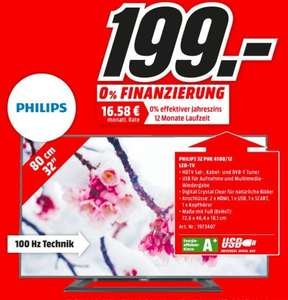 LOKAL HH MM - Philips 32 Zoll PHK 4100 - 199,00 €