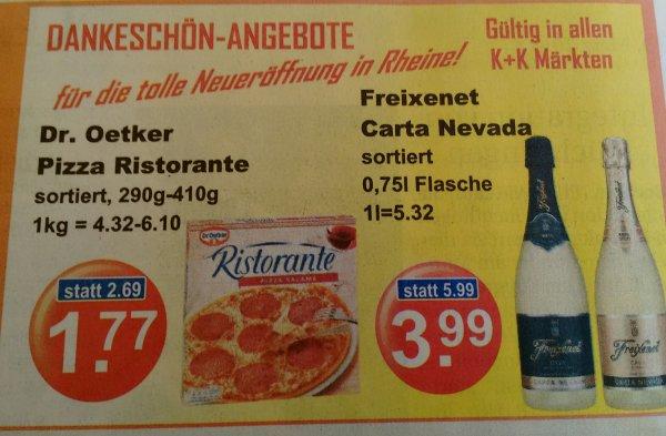 [K+K] Dr. Oetker Pizza Ristorante