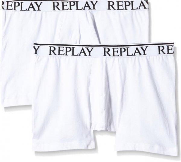 (Amazon/Prime) 2x Replay Herren boxershort weiß alle Größen für 13,48€ inkl. Versand & QIPU 10% (idealo 32,90€inkl.versand)