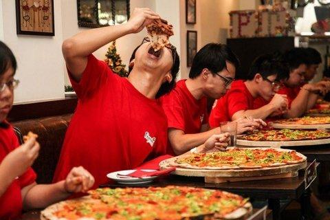 (Lokal Aachen) Pizza Point All You Can Eat + Eis + Heißgetränk 6,90€