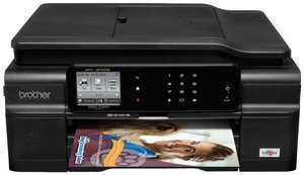 [office-partner]  Brother MFC-J870DW Tintenstrahl-Multifunktionsgerät (A4, 4-in-1, Drucker, Kopierer, Scanner, Netzwerk, WLAN, Duplex) 138€