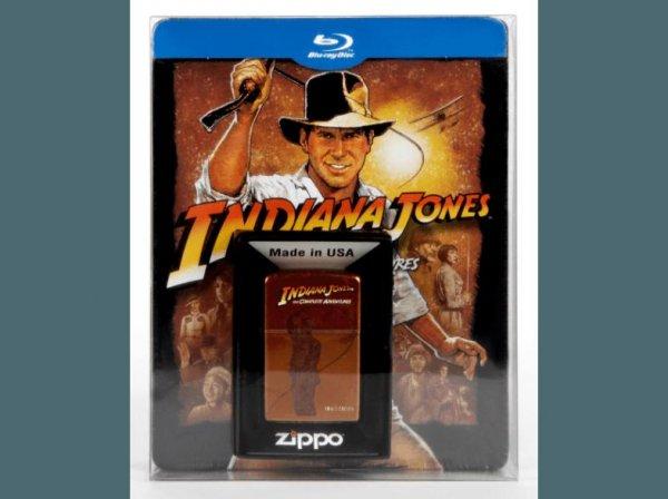 (Saturn) Indiana Jones - The Complete Adventures: Limitiertes Steelbook inkl. Zippo (Blu-Ray) für 34,99 EUR