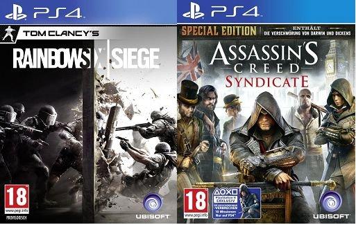 [HD Gameshop] PS4 und XB1- Tom Clancy's Rainbow Six Siege Standard Edition + Assassin's Creed: Syndicate  für zusammen 54,99€. Rainbow Six einzeln für 29,99€ AT-PEGI Version (DEUTSCH).Versandkostenfrei