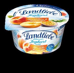 KW 11 Kaufland Frankfurt am Main Landliebe Fruchtjoghurt im angebot  1/2 Preis 0,29 € mit coupon 0,12 € pro becher