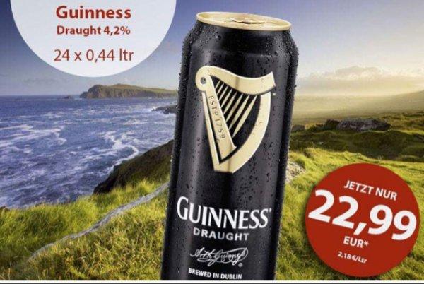 Guinness Draught 4,2% 24x0,44L @ allspirits.de