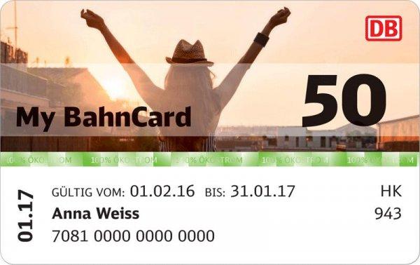 Bahncard 50 für alle unter 27 für 69€ im ersten Jahr