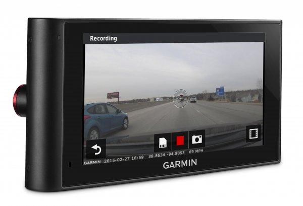 Garmin nüviCam LMT-D PKW-Navigationsgerät mit eingebauter DashCam