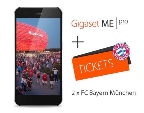 Gigaset ME Pro + zwei Freikarten zum Spiel des FC Bayern München