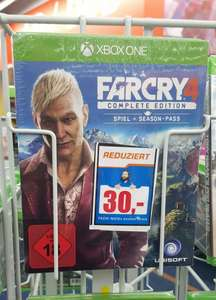 [Lokal Saturn Bremen] Xbox One - Far Cry 4 Complete Edition für 30€