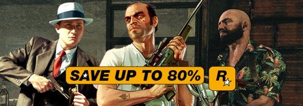 [Steam] Rockstar Week - Diverse Games ab 2,25€, u.a. GTA San Andreas, Vice City, Bully: Scholarship Edition @ Gamersgate