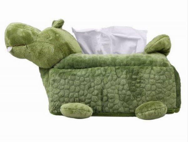 [Aliexpress] [Gästeklo] Krokodil-Plüsch-Box für Taschentücher & Klopapier für 4,94€