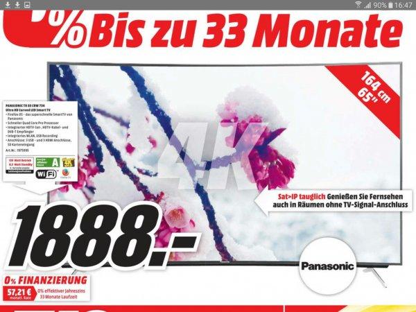 (Lokal Media-Markt Nordhorn) PANASONIC TX-65 CRW 734  1888€